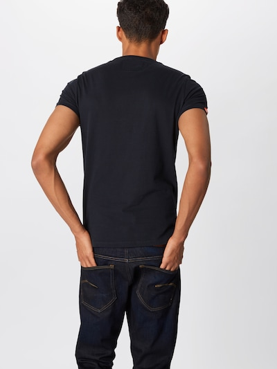Superdry T-Shirt in kobaltblau: Rückansicht