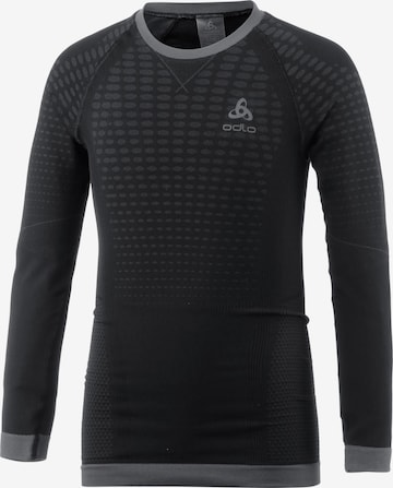 ODLO Performance Shirt 'Evolution Warm' in Black