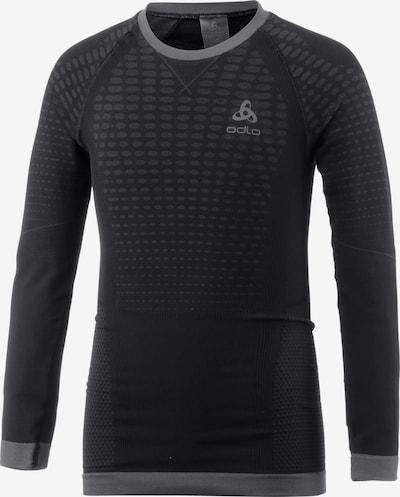 ODLO Shirt 'Evolution Warm' in grau / schwarz, Produktansicht