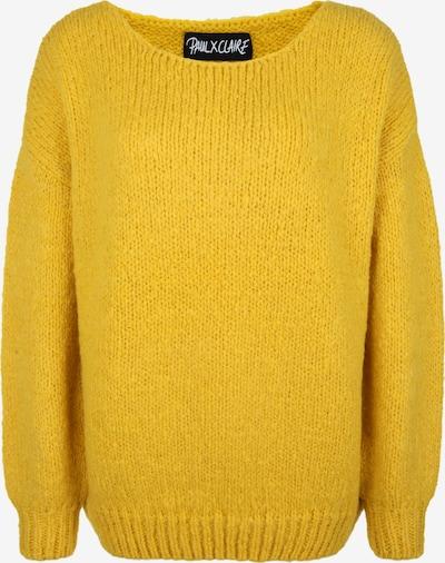 PAUL X CLAIRE Oversized trui in de kleur Geel, Productweergave