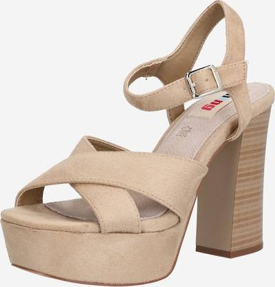 MTNG Strap sandal 'AMAZONAS' in beige, Item view