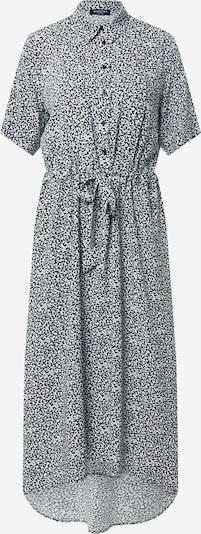 SELECTED FEMME Kleid 'Bella' in schwarz / weiß: Frontalansicht