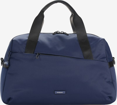 Hedgren Weekender in blau: Frontalansicht