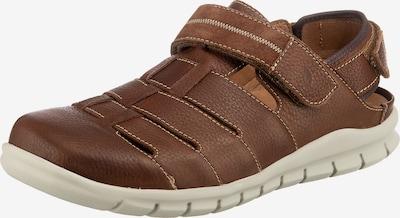 WALDLÄUFER Hector Komfort-Sandalen in braun, Produktansicht