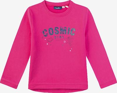 Sanetta Kidswear Shirt in himmelblau / dunkelpink / schwarz, Produktansicht