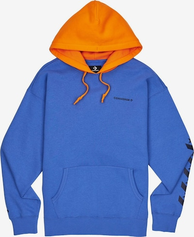 CONVERSE Hoodie ' Repeated Star Chevron PO ' in blau / orange, Produktansicht