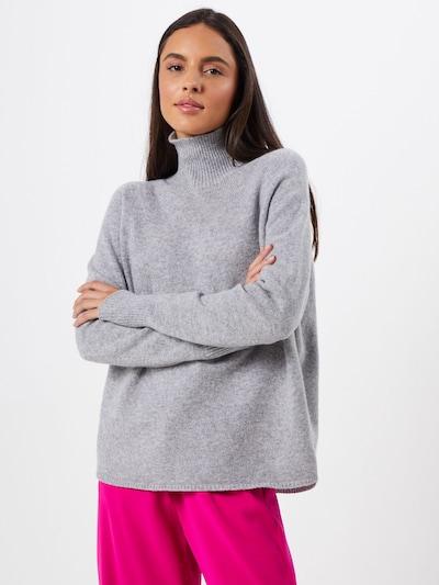 DRYKORN Pullover 'LYZA 420041' in grau, Modelansicht