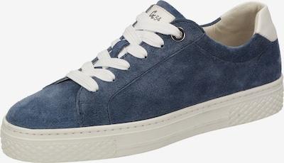 SIOUX Sneakers laag 'Somila-704-H' in de kleur Blauw / Wit: Vooraanzicht