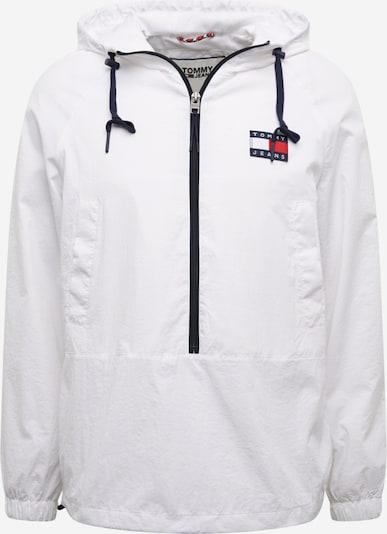 Tommy Jeans Prehodna jakna | bela barva, Prikaz izdelka