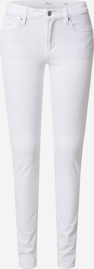 Jeans s.Oliver pe alb, Vizualizare produs