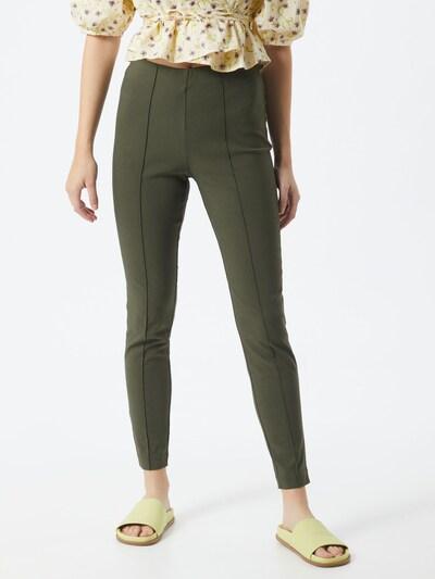 VILA Leggings 'Marikka' in dunkelgrün, Modelansicht