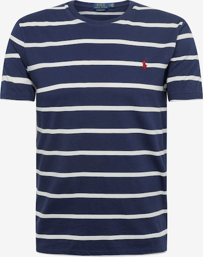 POLO RALPH LAUREN Shirt 'SSCNCMSLM7-SHORT SLEEVE-T-SHIRT' in de kleur Navy / Wit, Productweergave