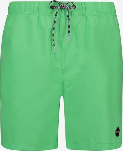 Shiwi Szorty kąpielowe do kolan 'Solid mike' w kolorze neonowa zieleńm, Podgląd produktu
