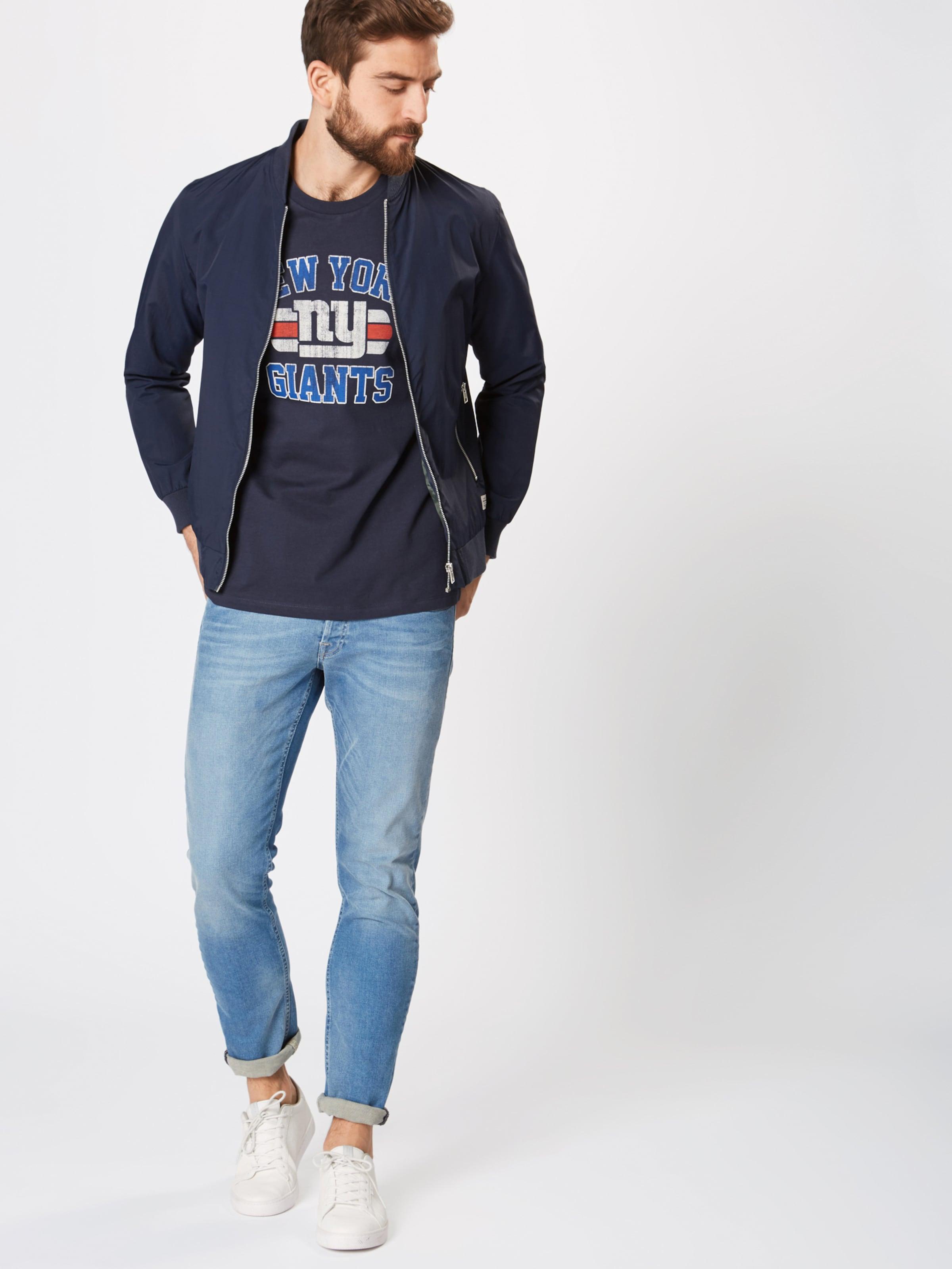 Shirt 'bowl' Jackamp; Offwhite DunkelblauRot Jones In MqVSUzp
