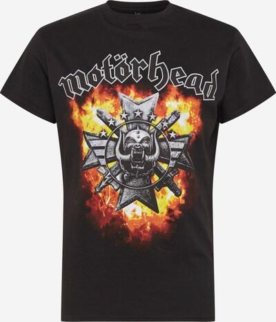 Mister Tee Shirt 'Motörhead Bad Magic' in schwarz: Frontalansicht