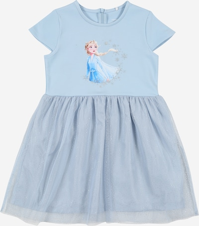 NAME IT Kleid 'FROZEN REBEC' in hellblau / mischfarben, Produktansicht