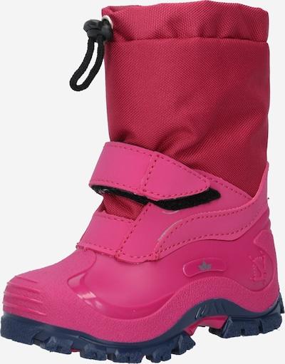 LICO Bottes de neige 'Werro' en rose, Vue avec produit