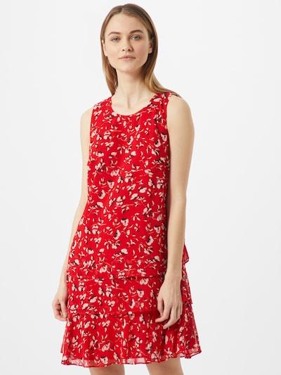 Lauren Ralph Lauren Kleid 'TYREE-SLEEVELESSDAY DRESS' in creme / rot, Modelansicht