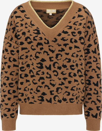 MYMO Oversized Sweater in Brown
