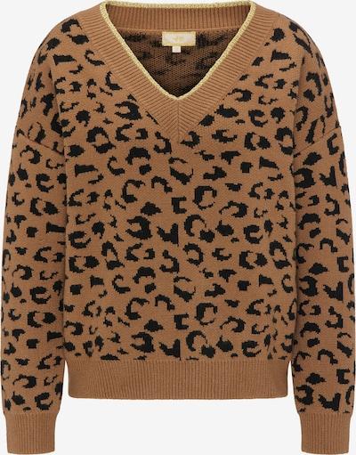 MYMO Pullover in camel / braun / gold, Produktansicht