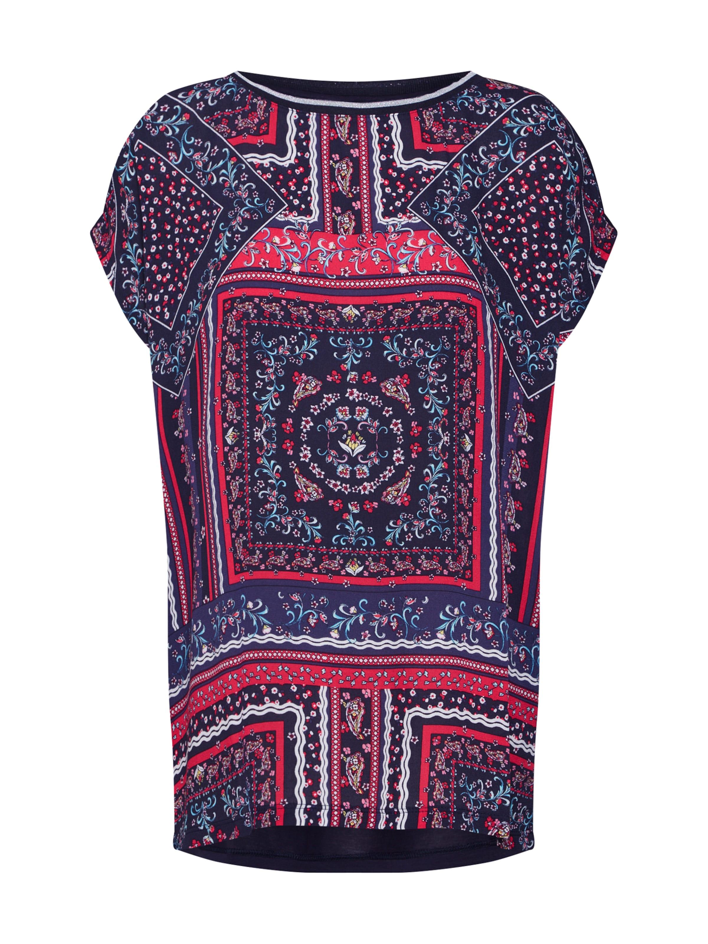 MarineMélange S De Label shirt Red Couleurs Bleu En T oliver O08nXwPk