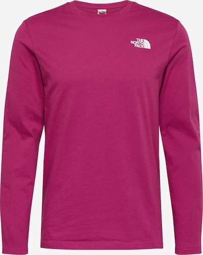 THE NORTH FACE Shirt 'Red Box' in magenta, Produktansicht