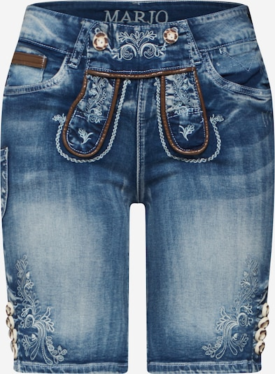 MARJO Shorts 'Franziska' in blue denim, Produktansicht