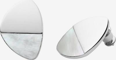SKAGEN Skagen Paar Ohrstecker »AGNETHE, SKJ1297040« in grau / silber, Produktansicht