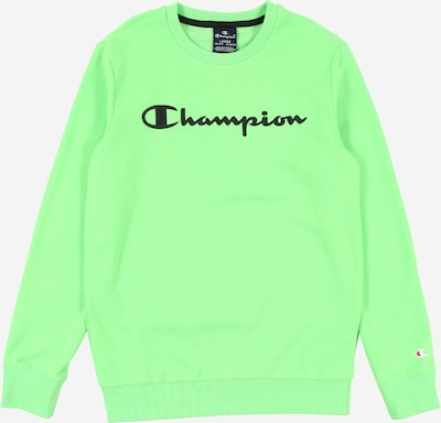 Champion Authentic Athletic Apparel Sweat en vert fluo, Vue avec produit