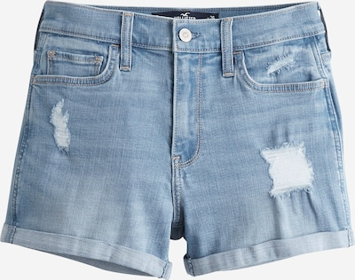 HOLLISTER Jeans 'DTC HR 3IN LIGHT DEST RCC' in de kleur Blauw denim, Productweergave