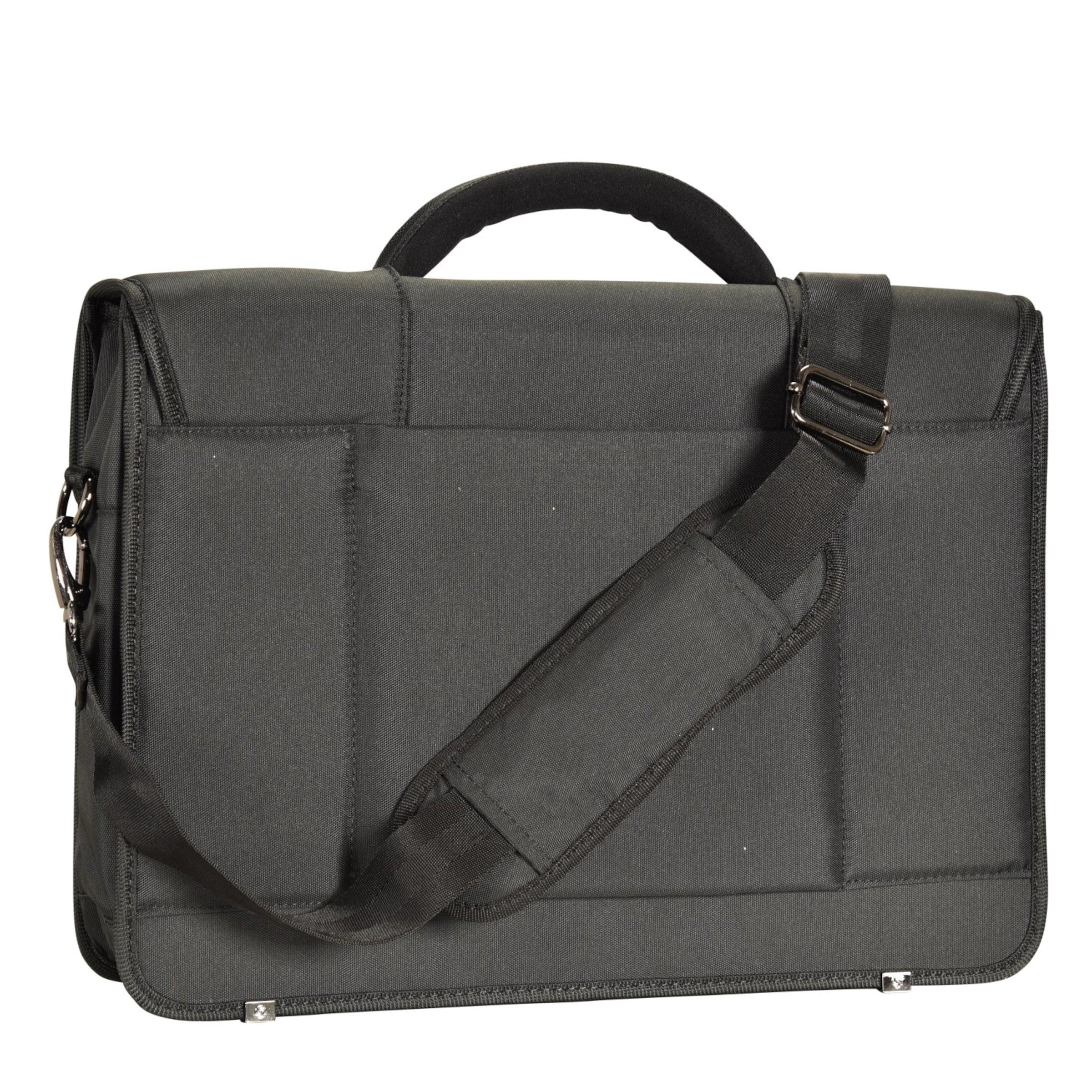 Aktentasche Laptopfach Desklite In Samsonite Cm Schwarz Briefcase 42 8wOmvNn0