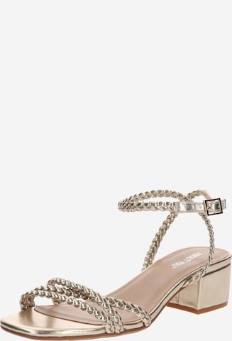 ABOUT YOU Sandalette 'Madita' in Gold