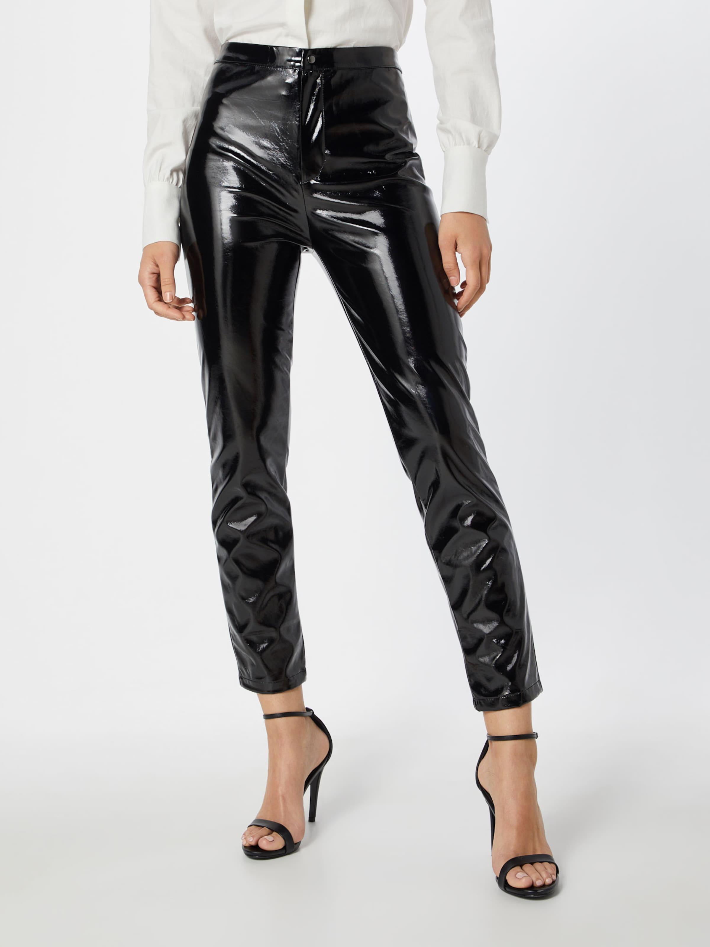 'shiny Pants' Schwarz In Na kd Hose kTPOXZiu