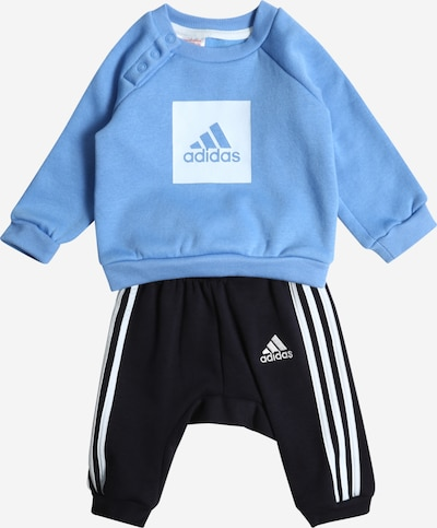 ADIDAS PERFORMANCE Trainingsanzug in royalblau / schwarz / weiß, Produktansicht
