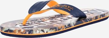 Séparateur d'orteils 'SCUBA' Superdry en bleu