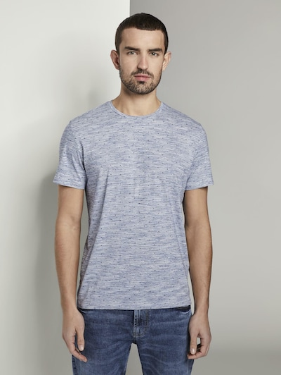 TOM TAILOR T-Shirt in grau: Frontalansicht