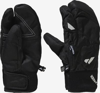 Zanier Fausthandschuhe 'Kals Stx Trigger' in schwarz / weiß, Produktansicht