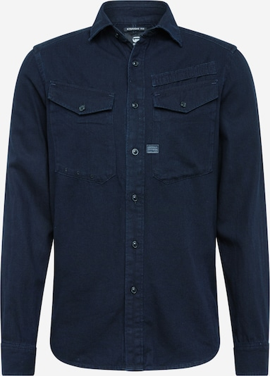 G-Star RAW Hemd 'Lecite' in blue denim, Produktansicht
