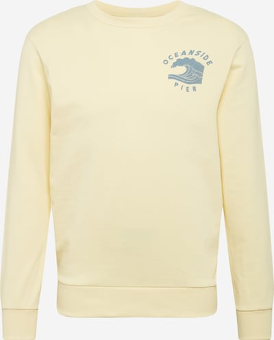 JACK & JONES Sweatshirt in de kleur Pasteelgeel, Productweergave