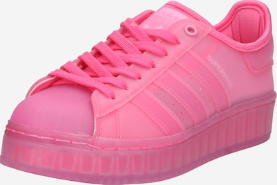 ADIDAS ORIGINALS Sneaker 'SUPERSTARє in pink: Frontalansicht