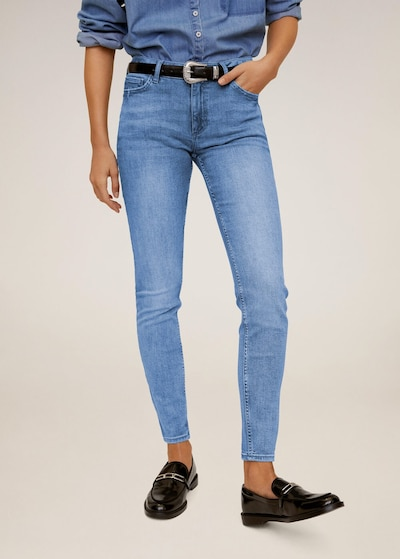 MANGO Jeans 'Kim' in blue denim, Modelansicht