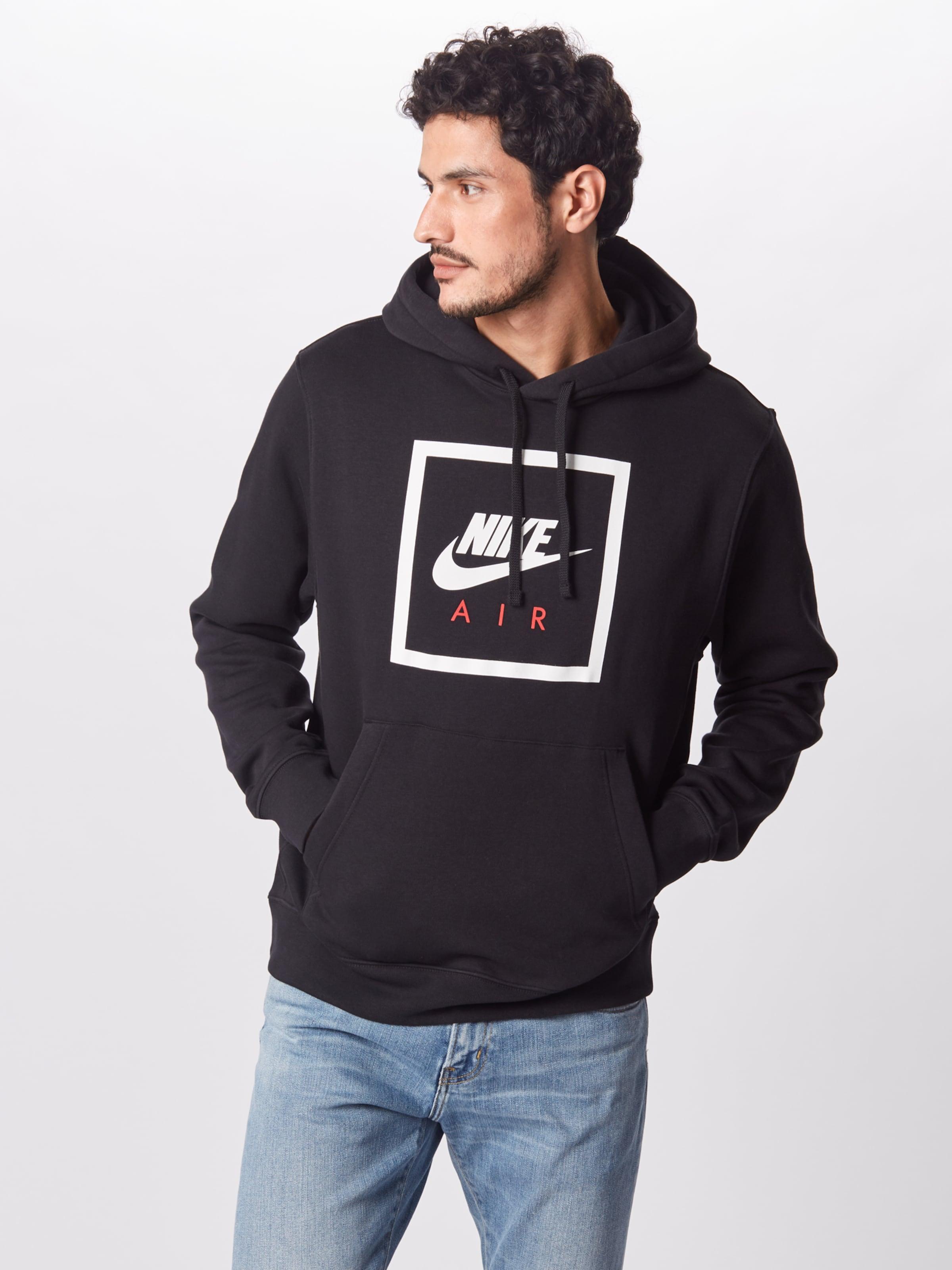 Sweat shirt En Sportswear Nike 'air Schwarz 5' vNnwOm0y8