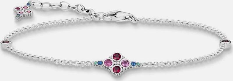 Thomas Sabo Silberarmband 'Royalty Farbige Steine, A1665-322-7-L19v'