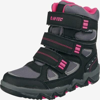 HI-TEC Winterstiefel 'Thunder Wp Jrg' in grau / pink / schwarz, Produktansicht