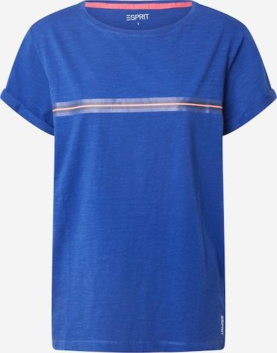 ESPRIT SPORT T-Shirt in blau / rot, Produktansicht