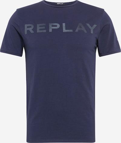 REPLAY T-Shirt in dunkelblau, Produktansicht
