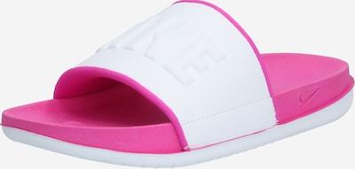 rózsaszín / fehér Nike Sportswear Papucs, Termék nézet