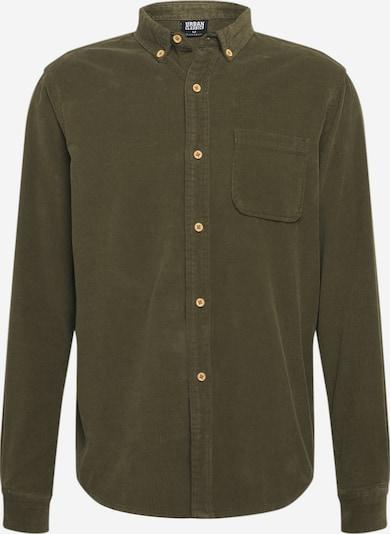 Urban Classics Hemd in oliv, Produktansicht
