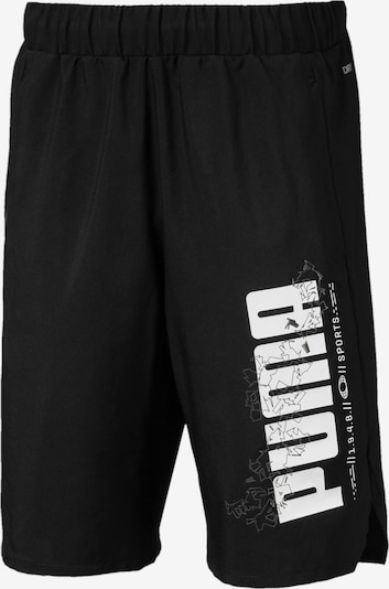 PUMA Trainingsshorts 'Active Sports Woven' in schwarz / weiß, Produktansicht