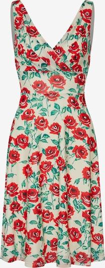 King Louie Letnia sukienka 'Ginger Wide Dress Blush' w kolorze beżowy / jasnoczerwonym, Podgląd produktu